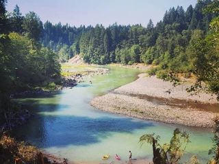 Sandy River Swimming hole Hotel Lucia Portland OR