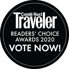 Conde Nast Traveler Reader's Choice Awards 2020